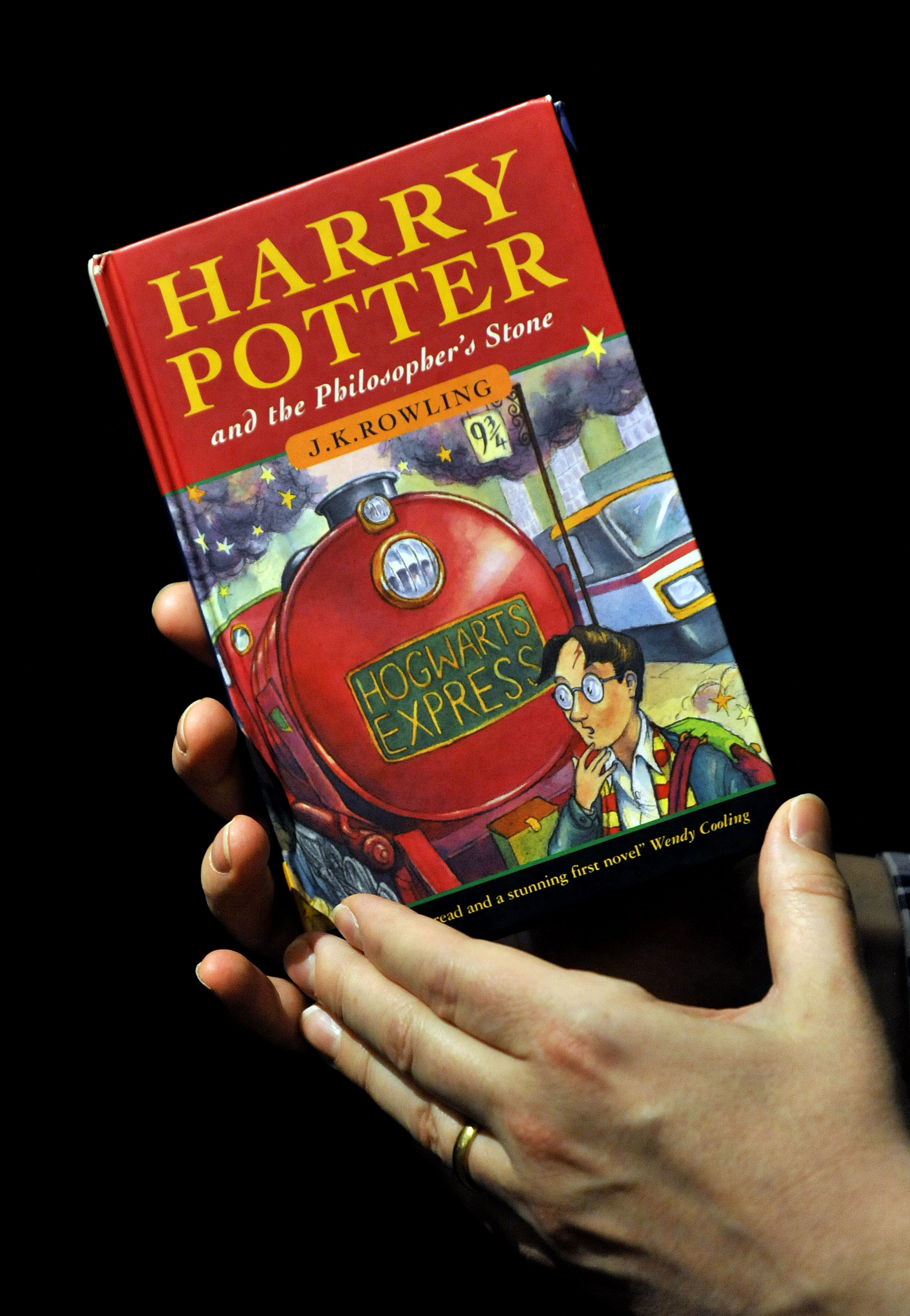 First editions can be worth anything from thousands of pounds to twenty quid. Credit: PA