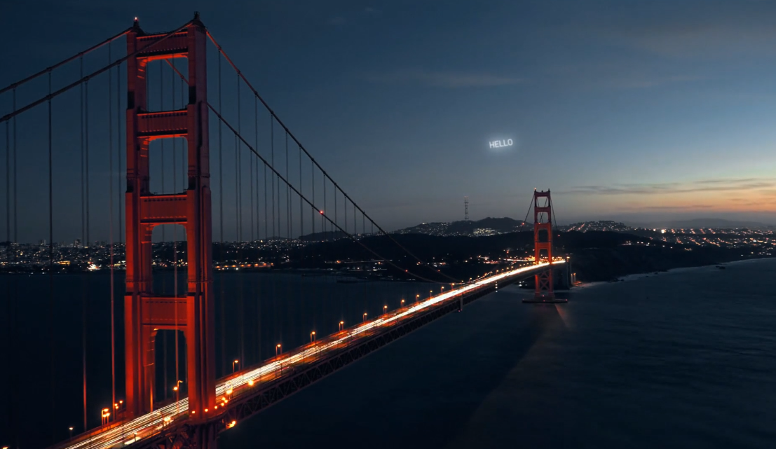 The satellites would use light from the sun and reflect to back to Earth. Credit: Vimeo