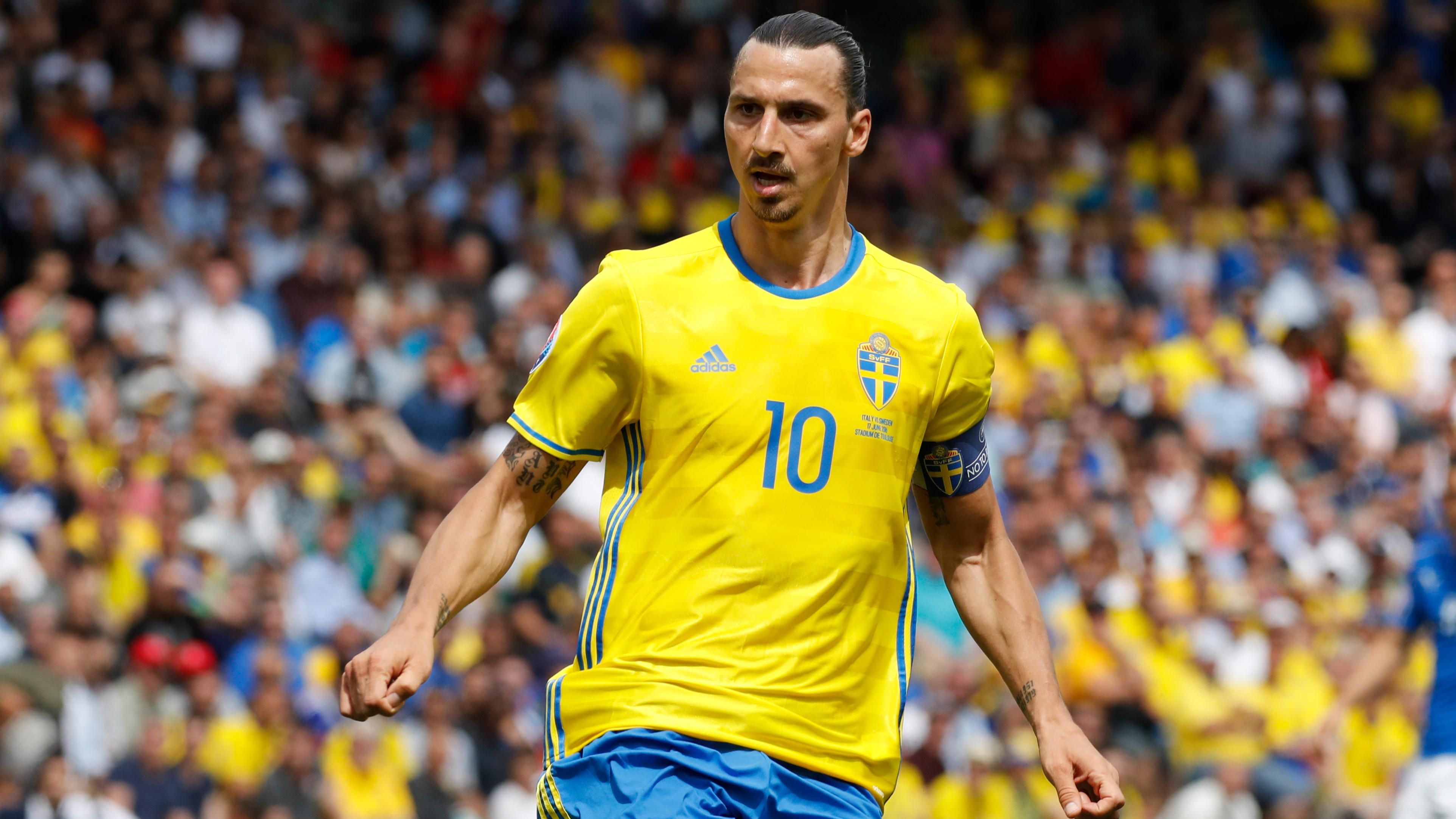9131f438b Zlatan Ibrahimovic Hints At Shock Return To Sweden National Team ...