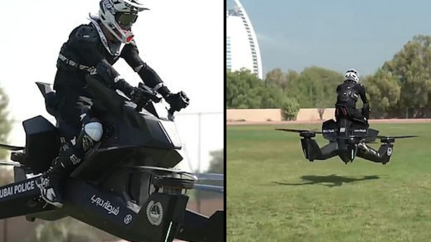 Dubai Police Set To Use Hoverbikes To Fight Crimes In The Sky