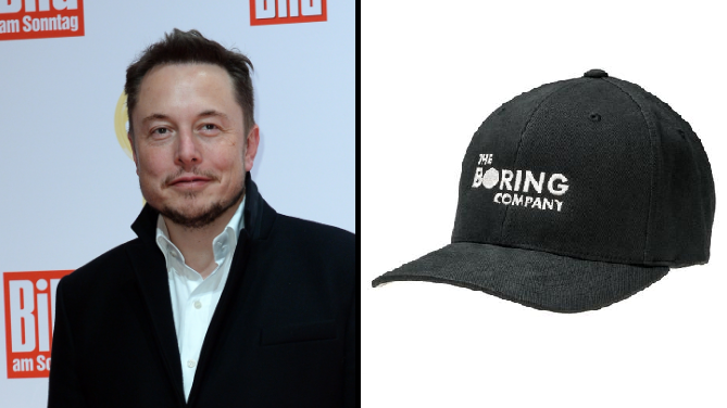 Elon Musk's Boring Company Is Raising Funds By Selling 'Boring' Caps
