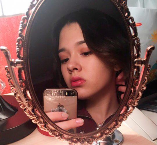 Karina Baymukhambetova was killed while taking a selfie on railway tracks in Russia. Credit: east2west news