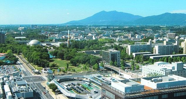 Tsukuba City, Ibaraki. Credit: Wikipedia