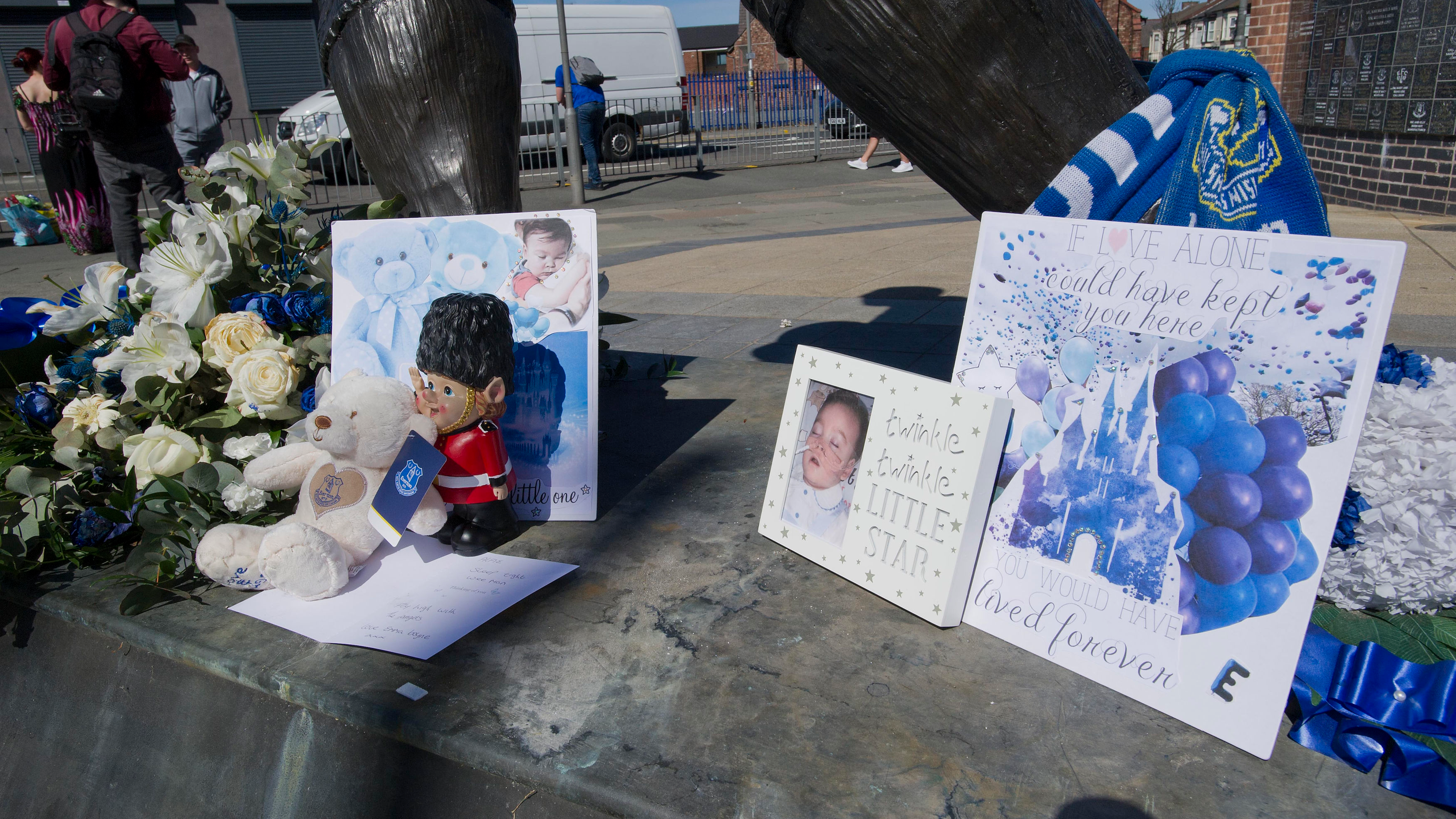 Mourners Gather In Liverpool To Pay Final Respects To Alfie Evans