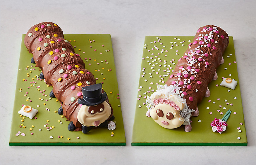 Colin The Caterpillar Cake Recipe