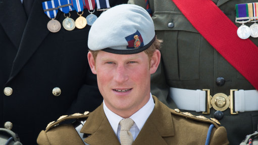 Prince Harry Appointed Captain General Of The Royal Marines By Queen