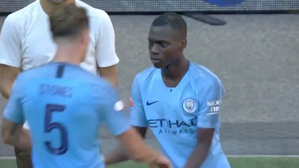 Claudio Gomes' Manchester City Debut Lasted Just One-Second