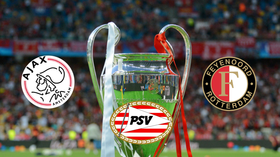 Ajax, PSV And Feyenoord Will Distribute Champions League Earnings To All Eredivisie Clubs