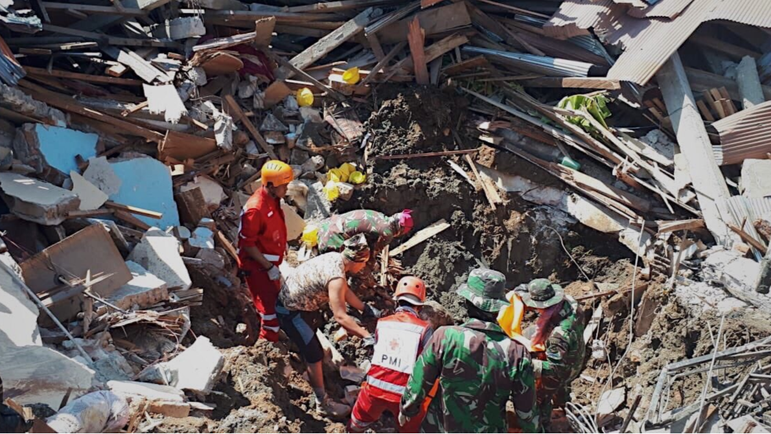 Search For Survivors Of Devastating Indonesian Earthquake Called Off