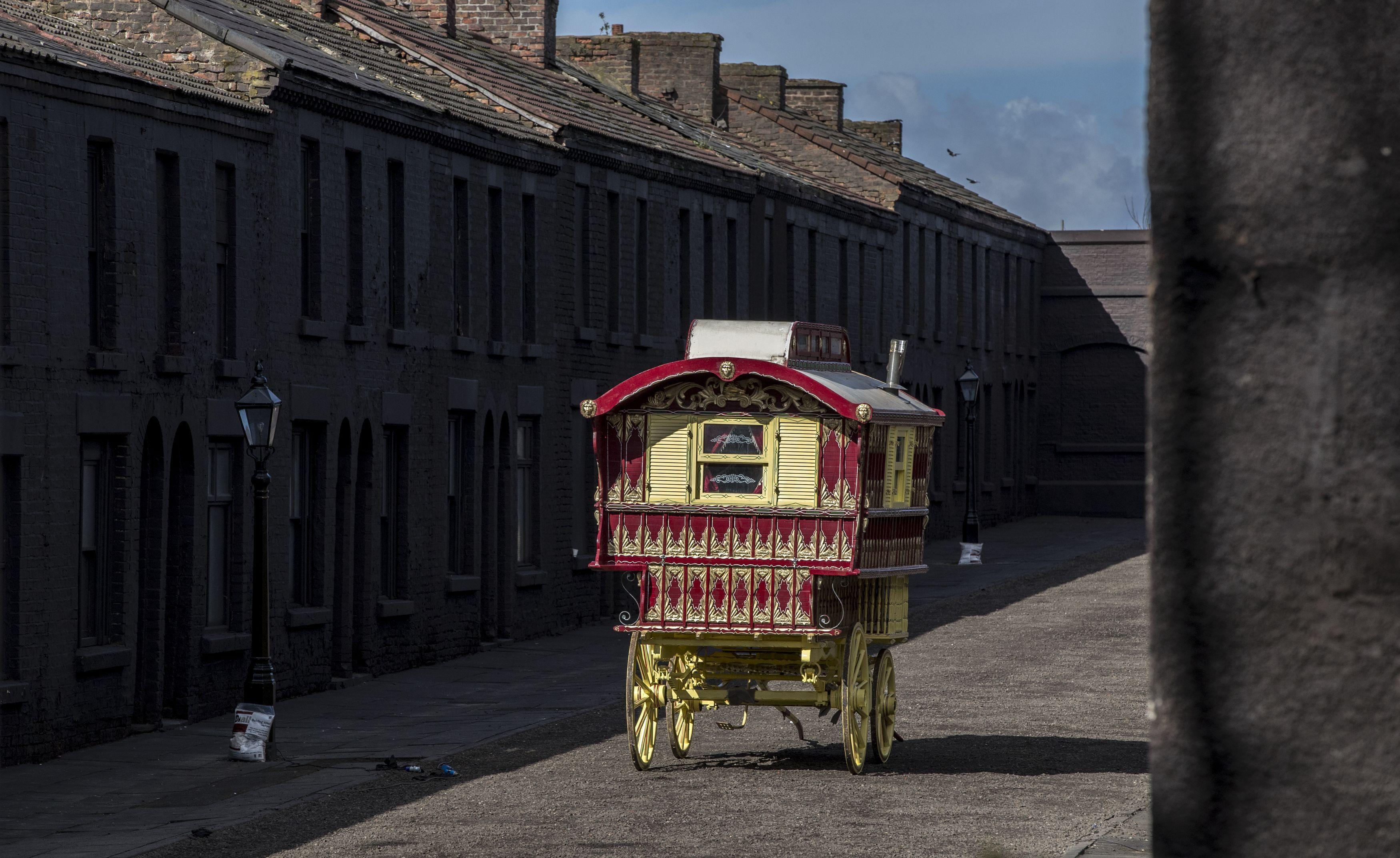 'Peaky Blinders' set in Liverpool. Credit: PA