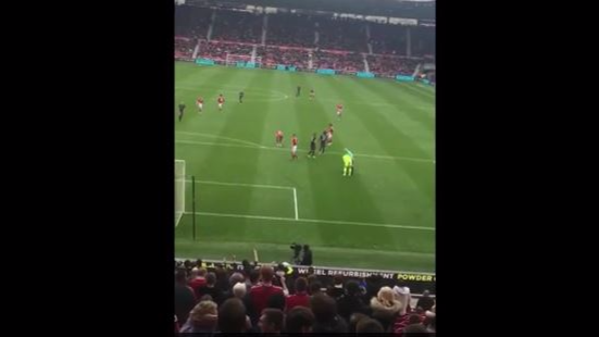 WATCH: Middlesbrough Fans Chant For Brad Guzan To Be Sent Off