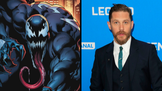 Tom Hardy Appears In Very Cryptic Pics From 'Venom' Film Set