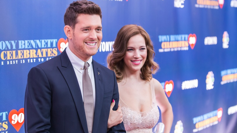 Michael Buble and wife Luisana Lopilato welcome daughter Vida