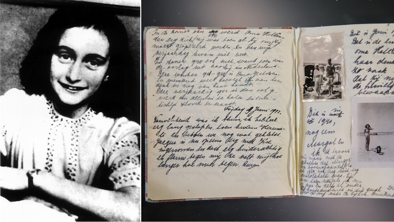 Anne Frank S Diary Had Two Pages Of Dirty Jokes And Sexual Matters