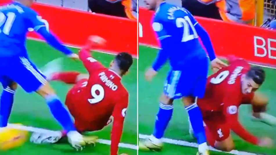 Only Roberto Firmino Could Pull Off A No-Look, Back Heel Nutmeg While On The Floor