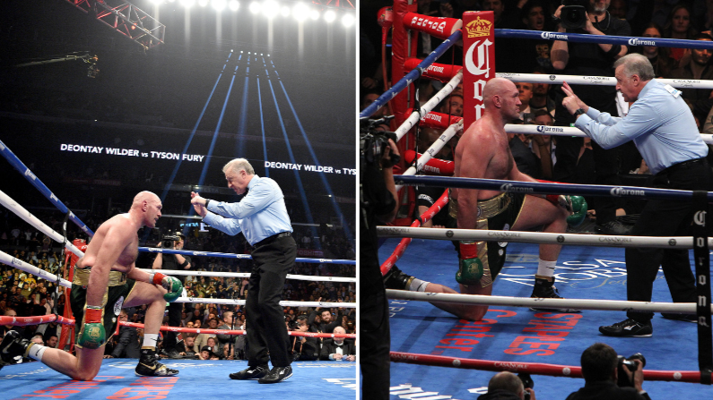 Tyson Fury Reveals What Referee Said To Him After 12th Round Knockdown