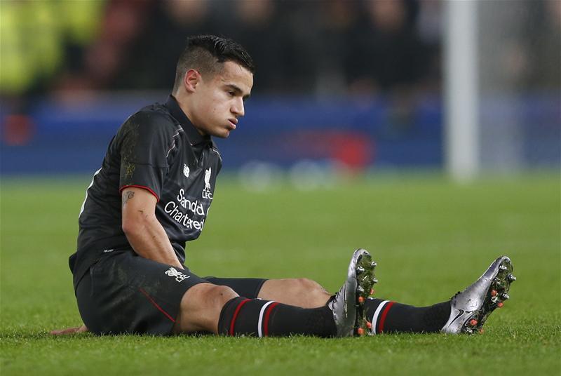 Coutinho Injured