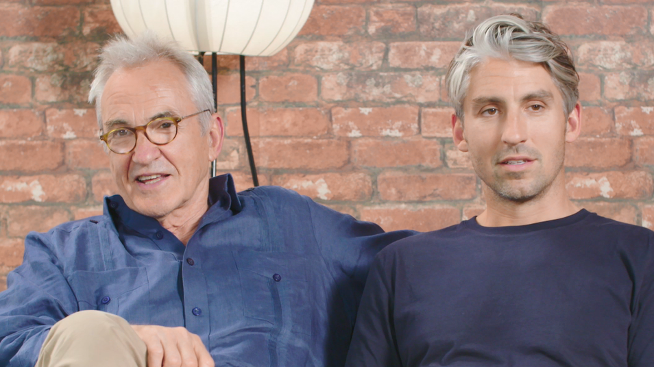Larry And George Lamb Dispense Some Father-And-Son Guidance