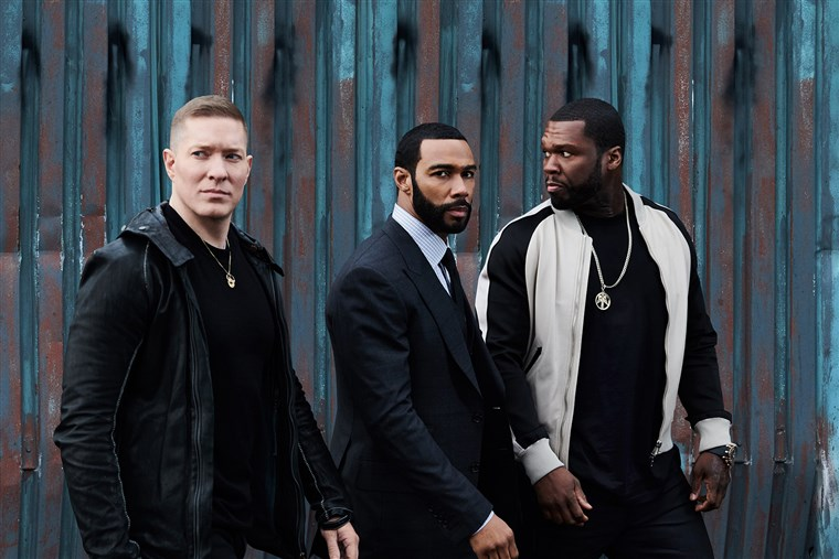 Joseph Sikora, Omari Hardwick and 50 Cent star in 'Power'. Credit: Starz