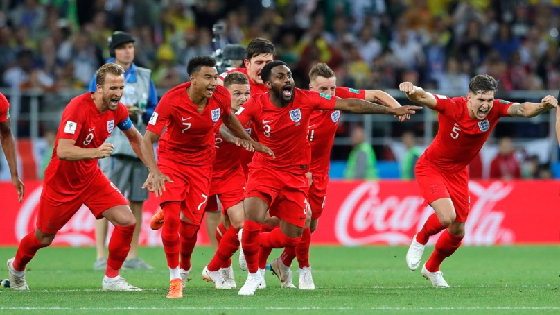 England Beat Colombia To Reach World Cup Quarter-Finals In Russia