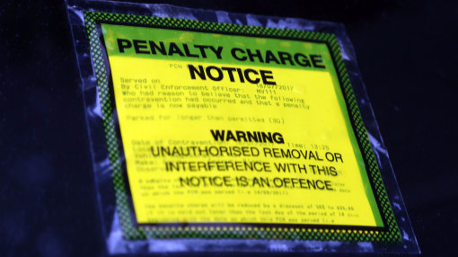 Unpaid Parking Tickets Are Being Chased Up By Officials