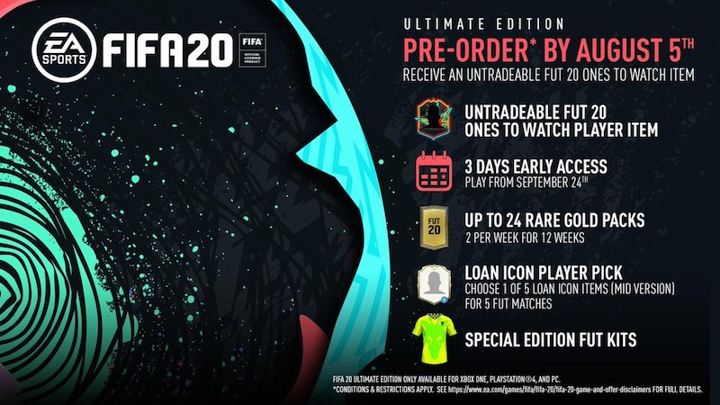 FIFA 20 Ultimate Edition Credit: EA