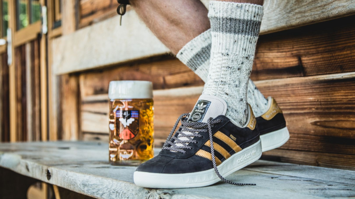 You Need These Beer-Proof Oktoberfest Adidas Trainer In Your Life