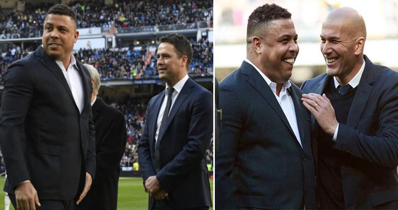 Ronaldo Is Not Happy About Michael Owen's Fat Joke