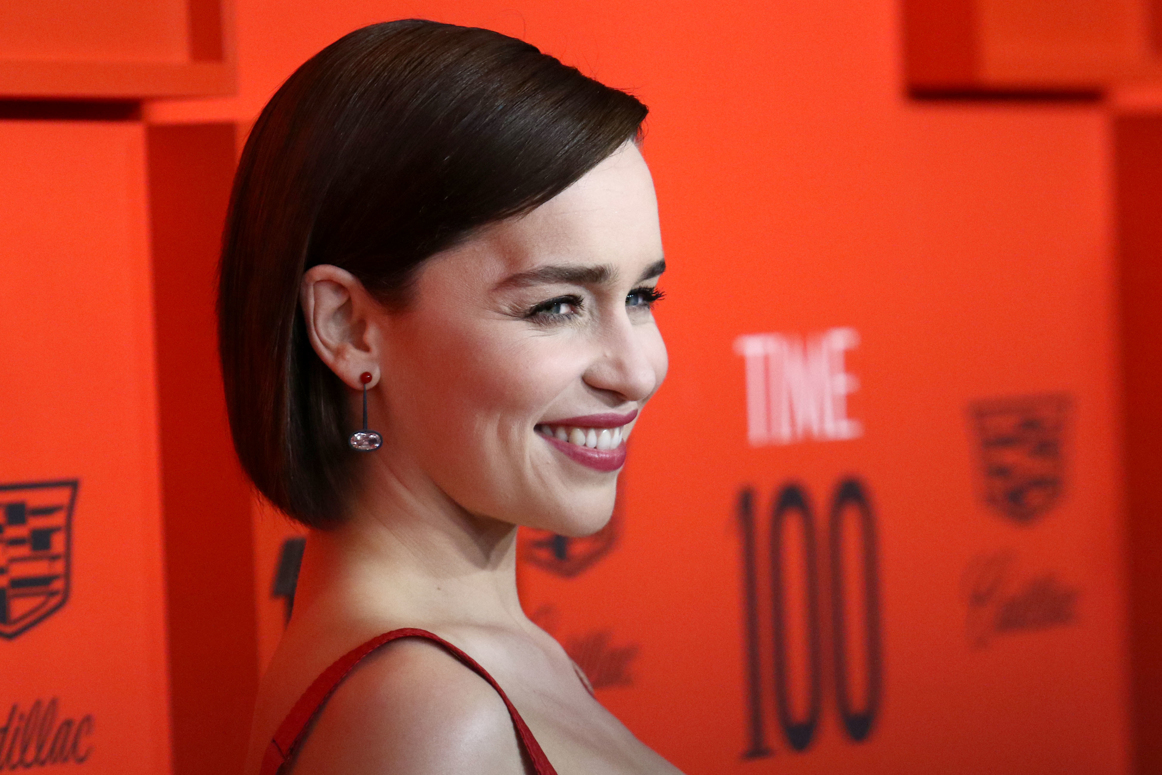 Emilia Clarke said the end of the show left her feeling numb. Credit: PA