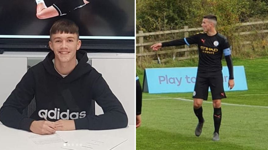 Manchester United Sign 600 Youth Goal Striker From Rivals Manchester City Sportbible