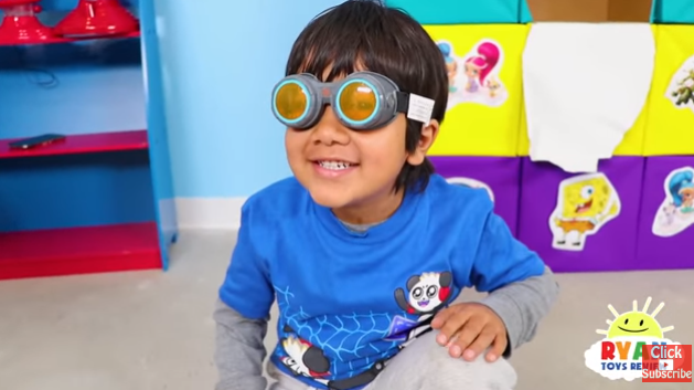 The staggering $22million figure is pre-tax. (Credit: YouTube/ Ryan ToysReview)