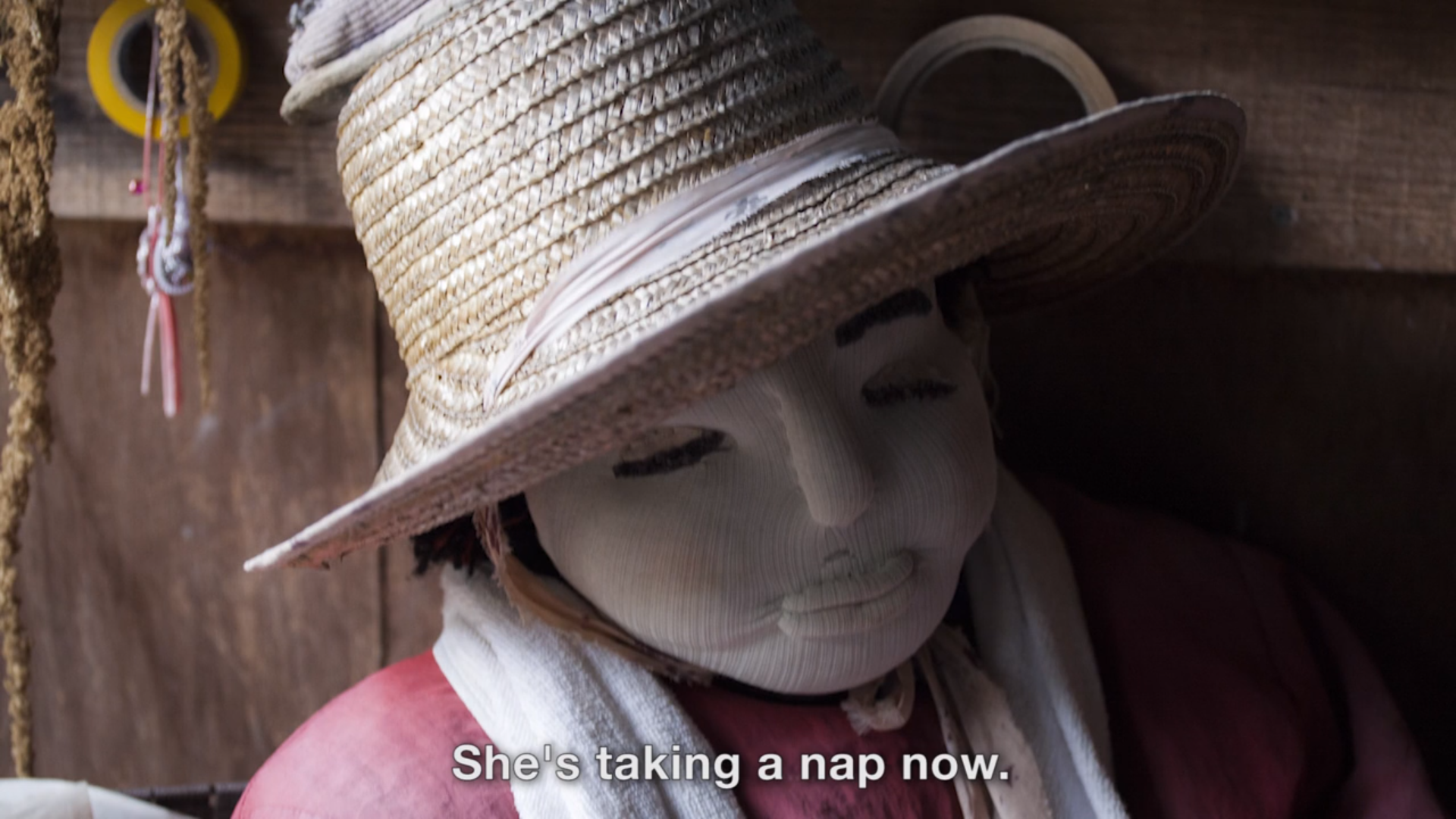 Tsukimi's doll isn't ready to wake up, yet. Credit: Fritz Schumann/The Verge