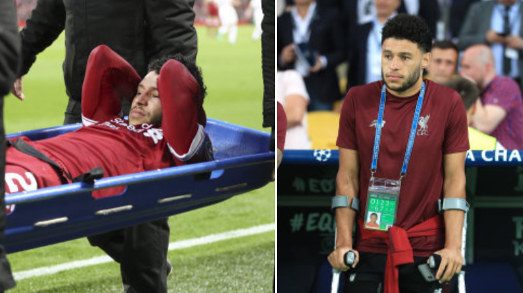 What Alex Oxlade-Chamberlain Did After Knowing He'd Be Out For The Season Is Class