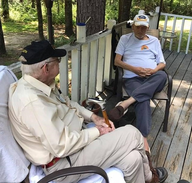 83-year-old retired marine keeps promise made in Vietnam bunker