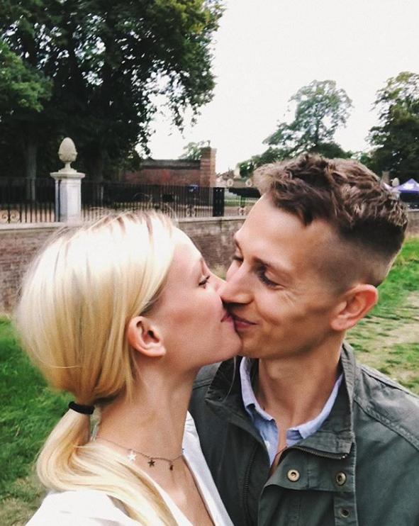 James McVey and girlfriend Kirstie Brittain. Credit: Instagram/Kirstie Brittain