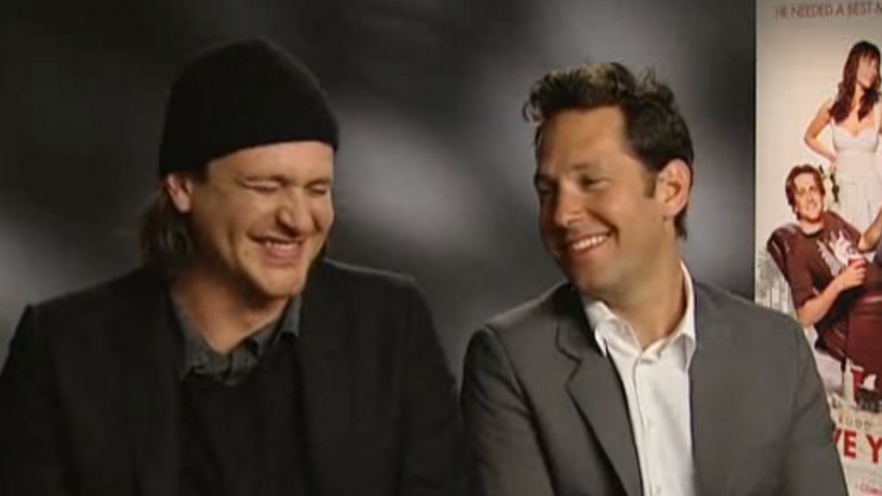 Paul Rudd And Jason Segel Interview While High Is Hilarious