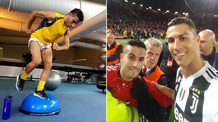 Cristiano Ronaldo Pitch Invader Has An Instagram Page Dedicated To The Juventus Forward
