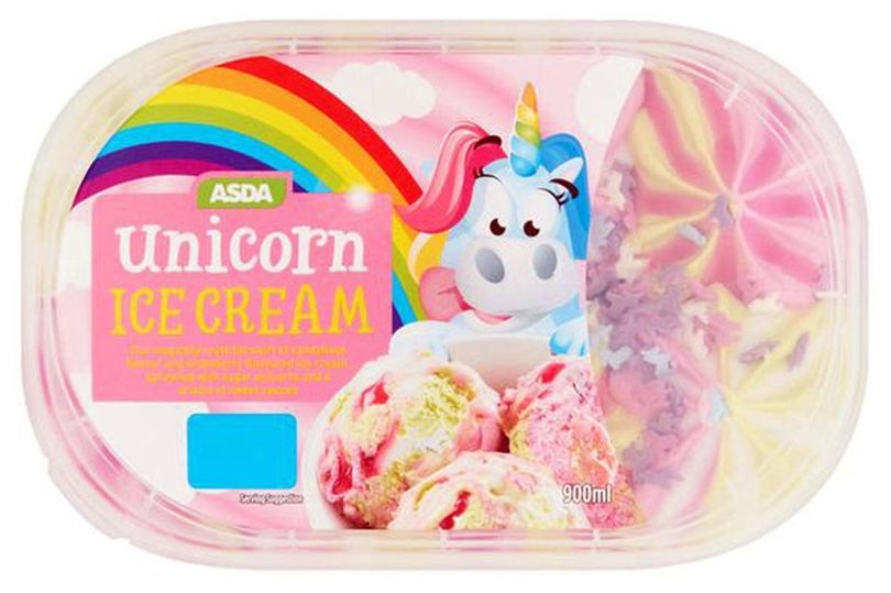 Asda Has Launched Unicorn Ice Cream And It Tastes Like