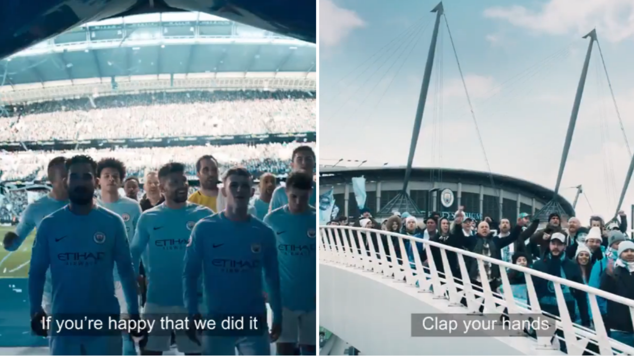 Manchester City Released The Worst Premier League Celebration Video Ever