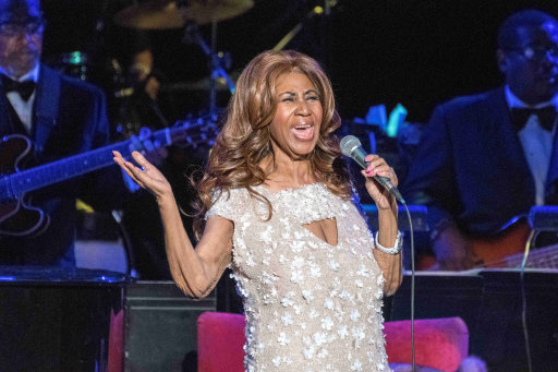 Celebrities pay tribute to Queen of Soul Aretha Franklin