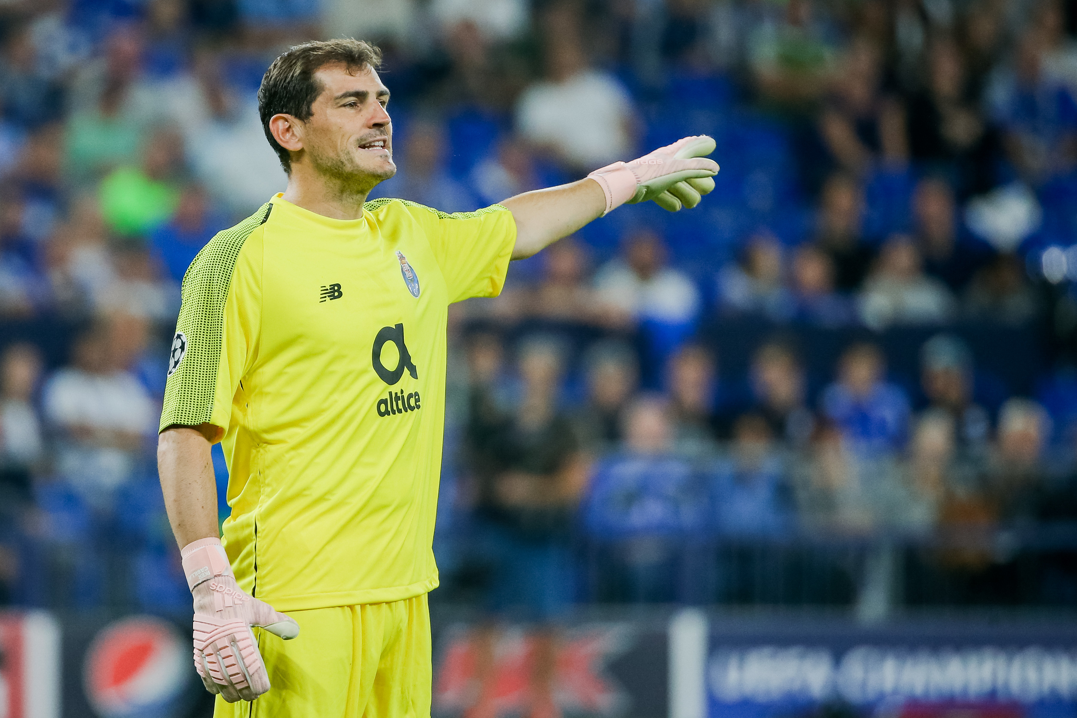 Casillas discharged from hospital after heart attack
