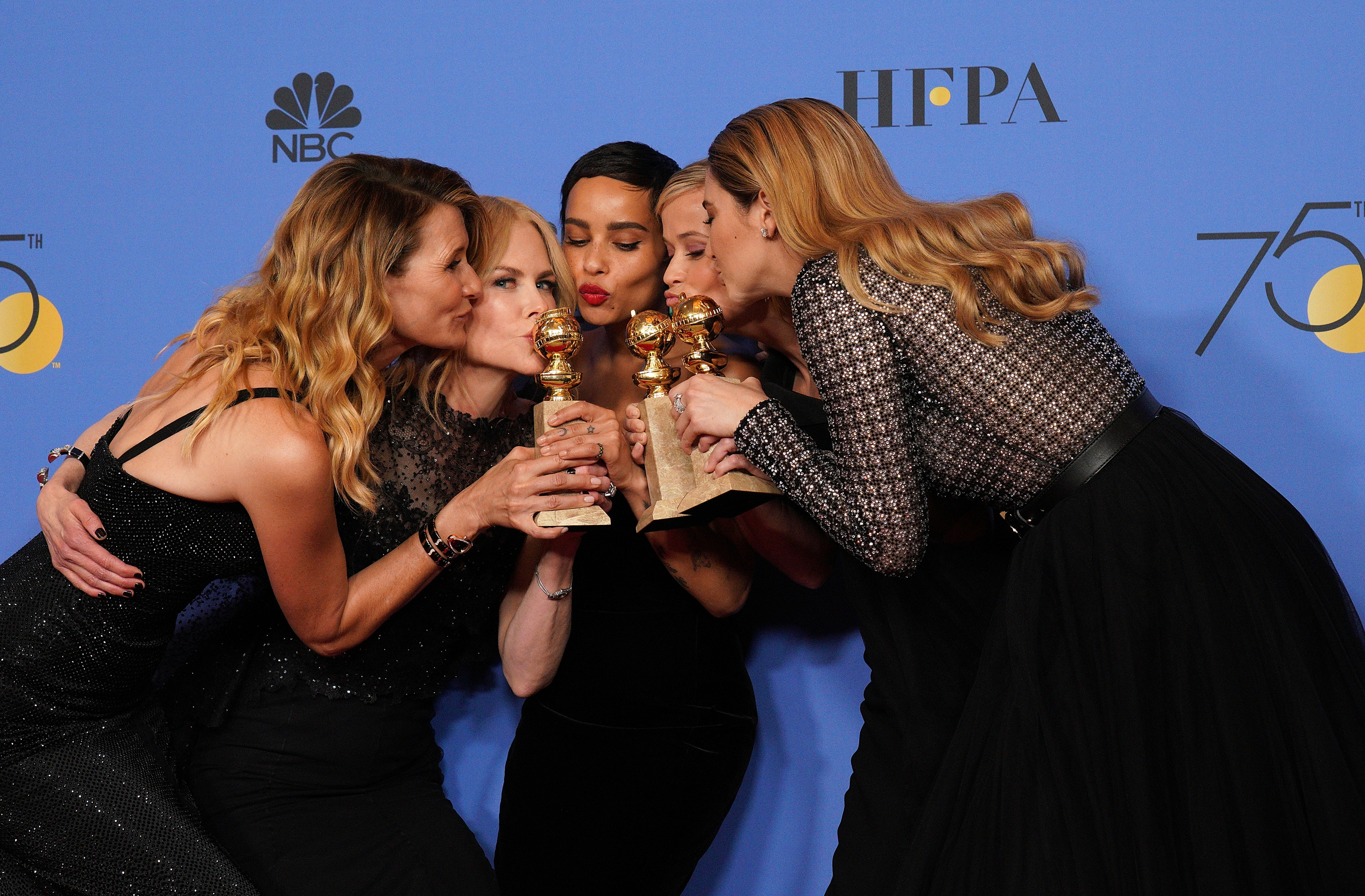 The cast of 'Big Little Lies' won fistfuls of awards for the first season of the HBO show. Credit: PA Images