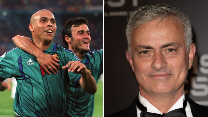 Jose Mourinho Says Brazilian Ronaldo Is Best Player Of All Time Sportbible