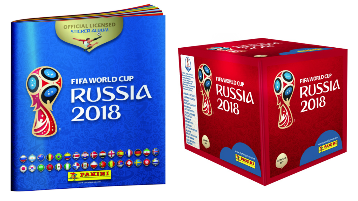 3219bc7c6 The 2018 FIFA World Cup Sticker Book Will Be Released This Month ...