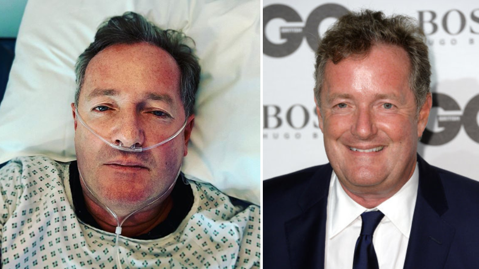 Piers Morgan Admitted To Hospital And Can't Resist Joking About It