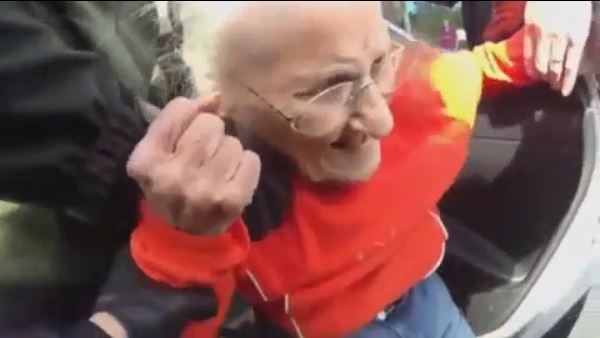 93-year-old forcibly evicted by police