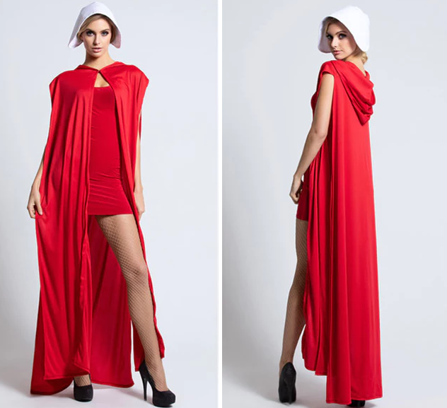 This 'Sexy' Handmaid's Tale-Inspired Halloween Outfit Embodies Everything That's Wrong In The World