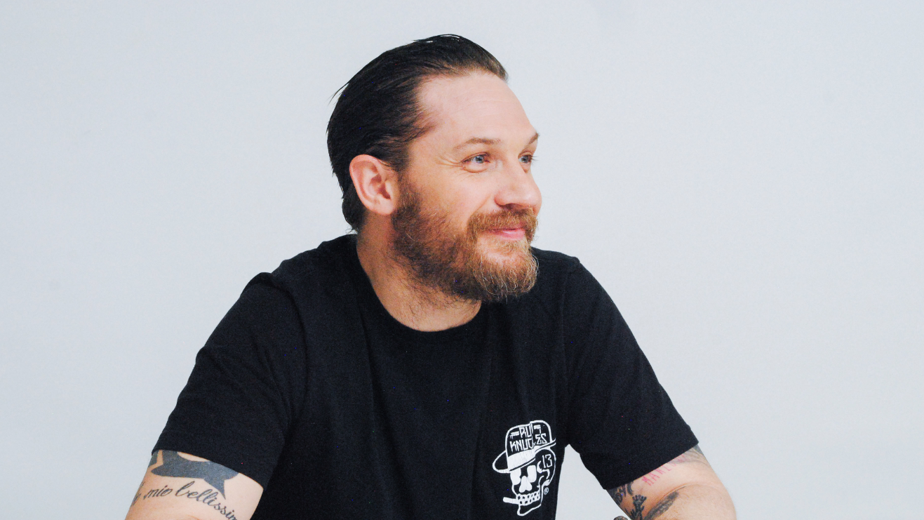 ​Tom Hardy Helps Re-Home Abandoned Puppies After They Were Left For Dead