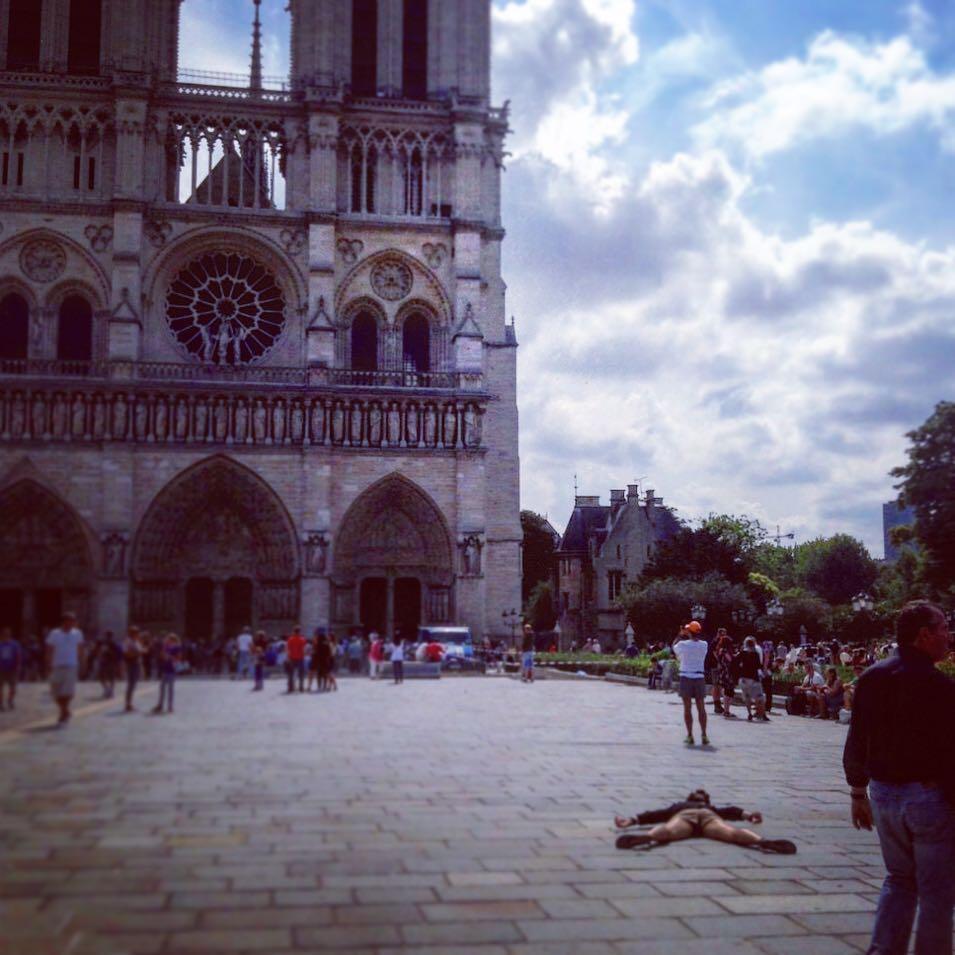 Notre Dame - topical. Credit: Instagram/Stefdies