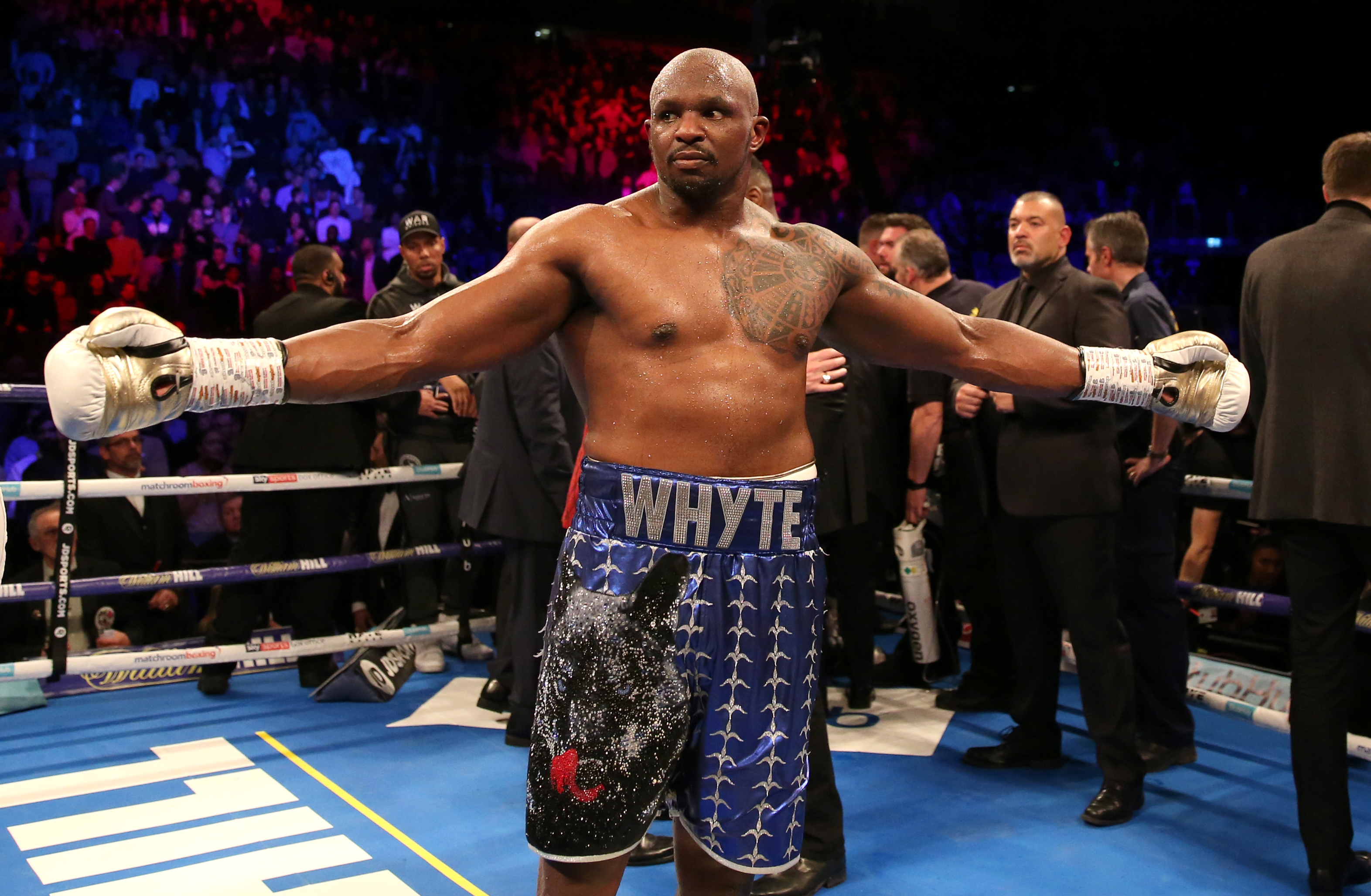 Dillian Whyte Shares The Big Rumour He S Heard About